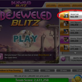Bejeweled hax?!