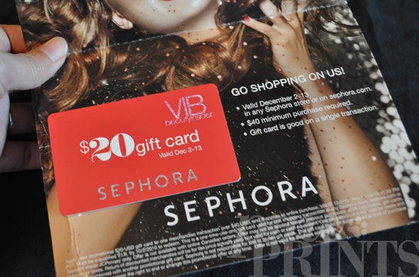 Sephora VIB December 2010