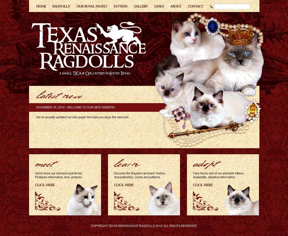 Texas Renaissance Ragdolls
